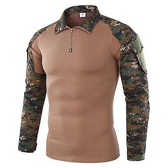 Us Army Tactical Military Uniform Airsoft Camouflage Combat-bewezen Shirts