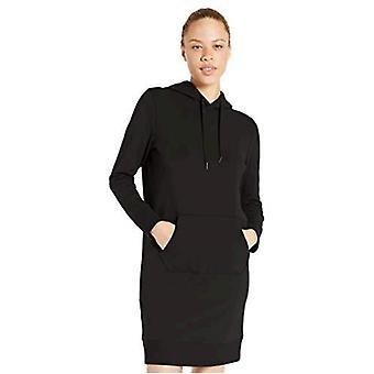 Brand - Core 10 Women's (XS-3X) Soft Cotton Modal French Terry Fleece Relaxed Fit Hoodie Sweatshirt Travel Dress