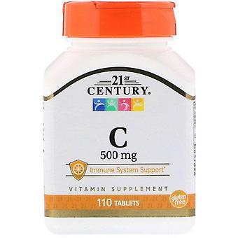 Siglo XXI, C, 500 mg, 110 Tabletas