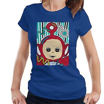 Teletubbies Po The Fourth Teletubby Women's T-Shirt