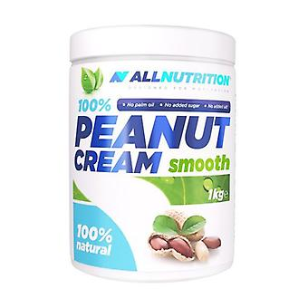 100% Peanut Cream, Smooth 1000 g