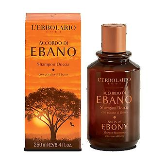 Avtal om ebenholtsschampo 250 ml (Citric - Doftskog)