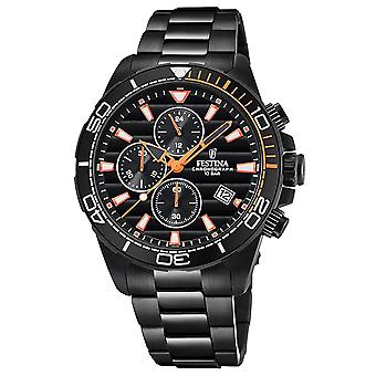 Festina the originals f20365/5 Watch for Analog Quartz Men with Stainless Steel Bracelet F20365/5