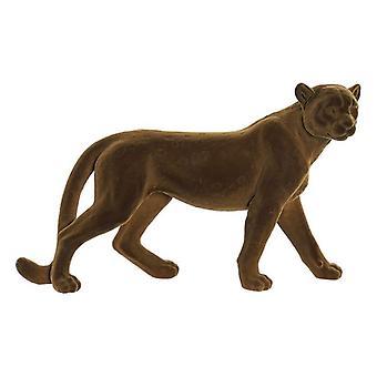 Figure décorative Dekodonia Resin Leopard (48 x 14 x 28 cm)