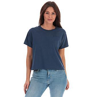 Women's Levis Graphic Varsity T-Shirt in Blue