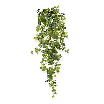 Hangingplant in acero artificiale 90 cm verde