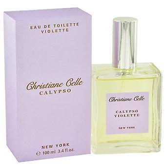 Calypso Violette Eau De Toilette Spray By Calypso Christiane Celle 3.4 oz Eau De Toilette Spray
