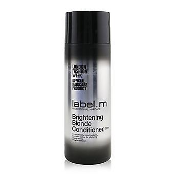 Label.M Brightening Blonde Conditioner (Infuses Moisture and Nurtures, Brightens Colour For Glistening Blonde Tones) 200ml/6.8oz