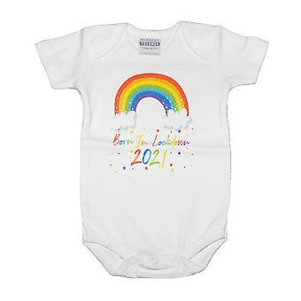 Kindergarten Zeit Baby geboren In Lockdown 2021 Kurzarm Body