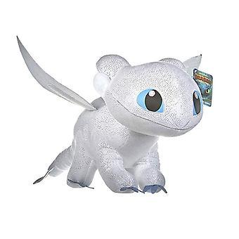 Dragons Light Fury Dragon Trainer Stuffed Animal Plush Soft toys 40cm White