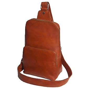 Ashwood nahka Slingo Cross Body Sling Laukku - Tan