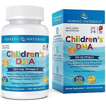 Nordic Naturals Infantile Dha 250 mg 360 Capsules