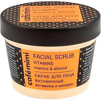Cafe Mimi Vitamin Facial Scrub 110 ml