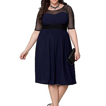 Kiyonna | Twirl and Swirl Cocktail Dress