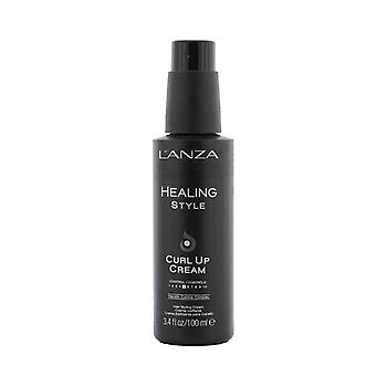 Lanza Healing Style Curl Up Cream (Control 6) 100ml/3.4oz