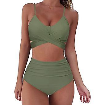 Uusi bikinit hight vyötärö naiset uimahyppypuku (sarja 1)