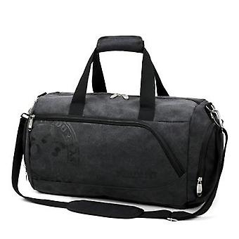 Sport Gym Training Men's Canvas Handbag Luggage Outdoor Sports Shoulder Bags