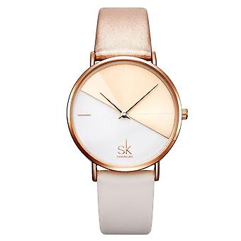 Shengke Vintage Ladies Wrist Watch/ Clock
