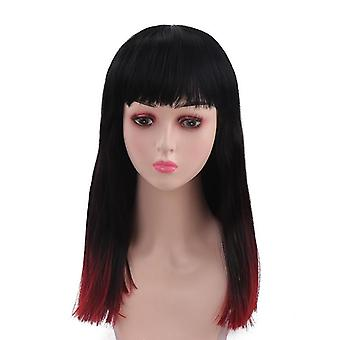 Convenient women's natural realistic wigs fashion synthetic wig fake hair curly hair
