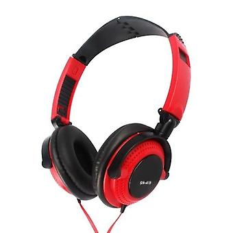 3.5mm Wired Gaming Headset Over-Ear Sports Headphones Music Earphones