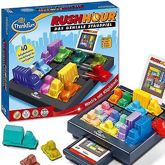 HanFei 76301 Rush Hour, Logik- und Strategiespiel, fr Kinder und Erwachsene, Brettspiel ab 1 Spieler,