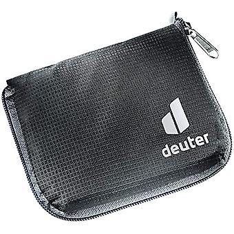 Deuter Zip Wallet, Wallet. Unisex-Adult, Black, One Size Fits All
