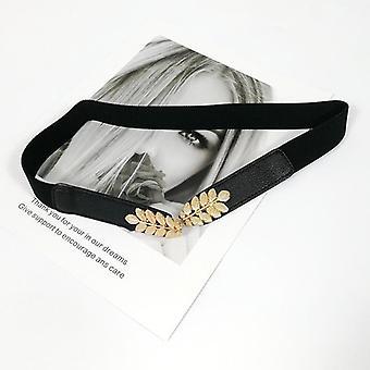 Elastic Silver Metal Waist Belts