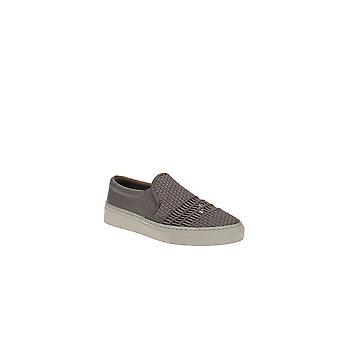 Via Spiga | Sara Vävda läder slip-on sneakers