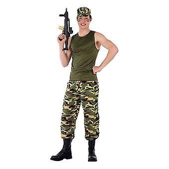 Costume per bambini 116276 Camouflage (Taglia 14-16 anni)