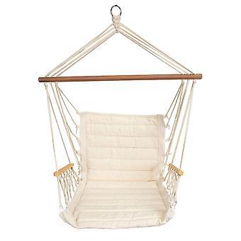 Silla colgante – Hamaca swing 67 x 55 cm – Blanco