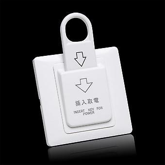 Высокосортный отель Магнитный переключатель карты , энергосберегающих переключатель, Вставьте ключ
