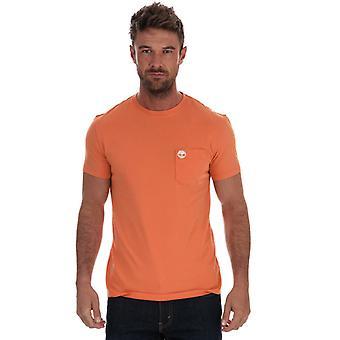 Menns Timberland Dunstan Pocket T-skjorte i andre