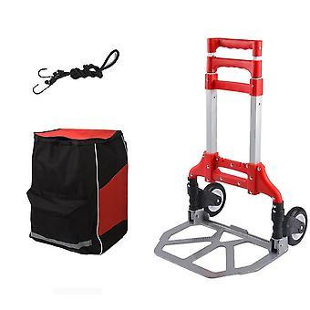 Cart Personal 150 Lb Capacity Aluminum Folding Hand Truck For Indoor Outdoor