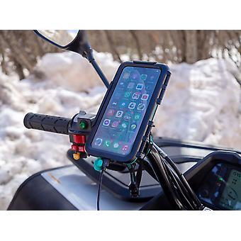 Kova vedenpitävä kotelo moottoripyöräkiinnike Sony-älypuhelimille