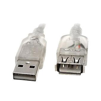 8Ware 1M USB A プラグから USB ソケットへ