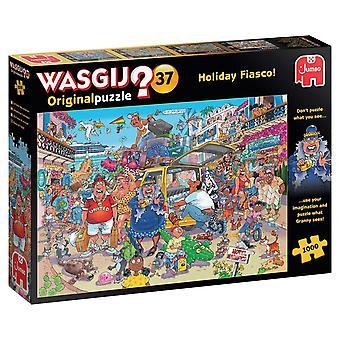 Wasgij Original 37 Holiday Fiasco! Jigsaw Puzzle (1000 Pieces)