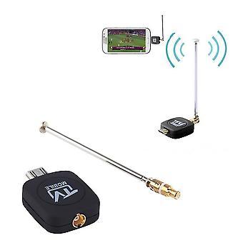 Dvb-t Micro Usb Tuner Odbiornik telewizji mobilnej Stick dla Android Tablet Pad Phone