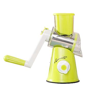 Swotgdoby Rotary Grater, Vegetable Slicer With Three Interchangeable Blades