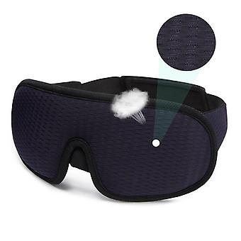 Blocking light sleeping eye mask soft padded travel shade rest relax sleeping blindfold eye cover sleep mask eyepatch