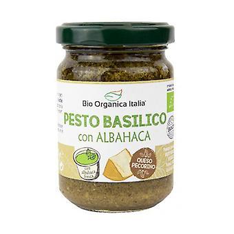 Grøn basilikum pesto med pecorino og cashewnødder 130 g