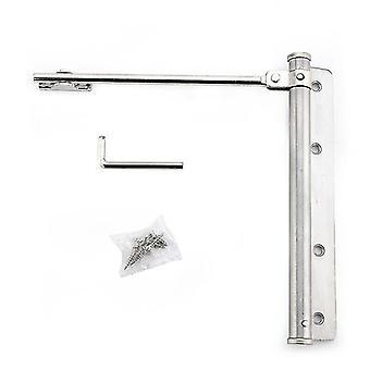 Regulowane drzwiowe - automatyczny zawias z zatrzaskiem sprężynowym ze stali nierdzewnej