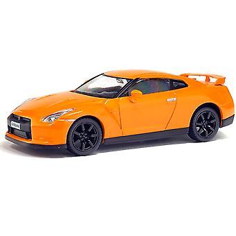 Nissan GTR in Orange