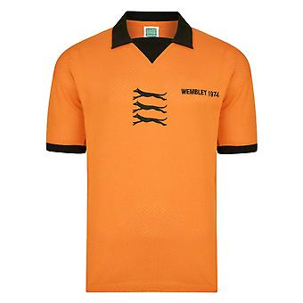 Wolves 1974 League Cup Final shirt