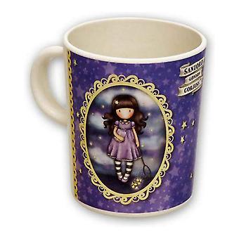 Mug Gorjuss Catch a Falling Star Purple Bamboo
