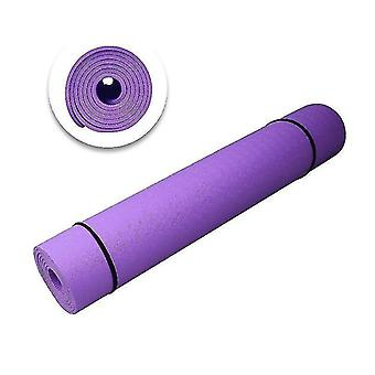 Yoga pilates mats scandinavian inspired style non slip yoga mat with position line guides for fitness  gymnastics and