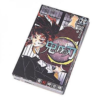 32Pcs/set japan anime demon slayer kimetsu no yaiba tanjirou nezuko agatsuma zenitsu postcard collection cards