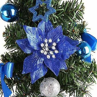 Diy Joulukuusi 20 cm pienet männyn minipuut sijoitettu työpöydän kodin sisustukseen