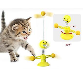 Multifunkcionális szopó interaktív macskajáték