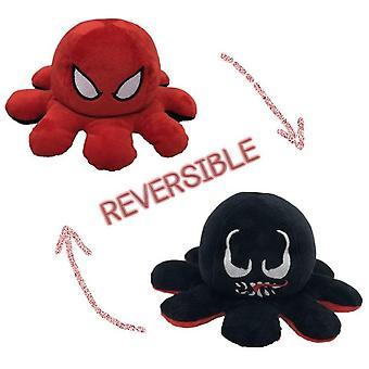 Dubbelzijdig Flip Doll Omkeerbaar Octopus Pluche Speelgoed