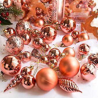 30pcs Merry Christmas Ornaments Baubles Xmas Tree Festival Party Decor